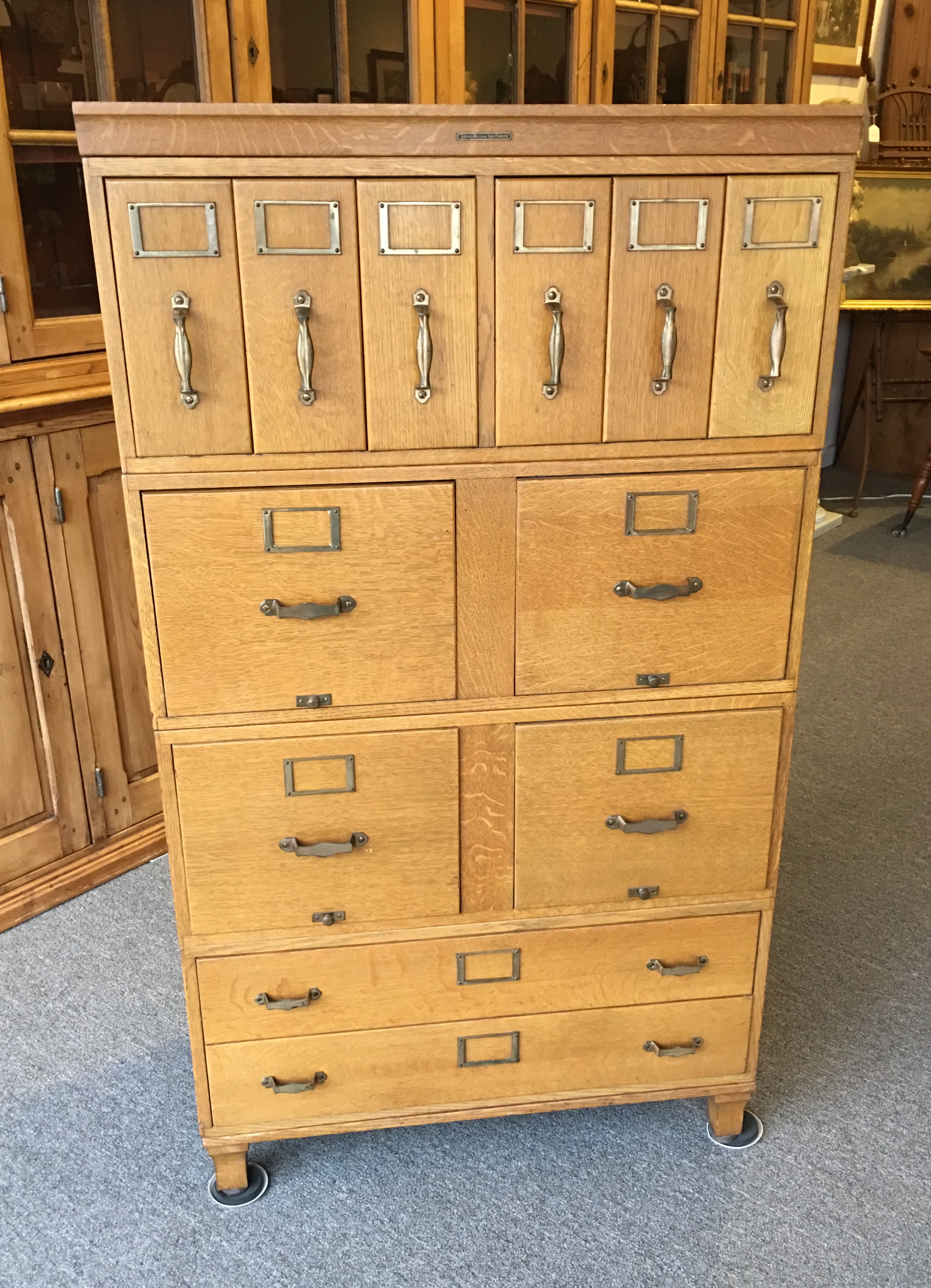products collectors love indigo cabinet library indian vintage